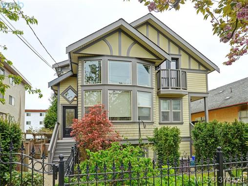 Main Photo: 1 1041 Southgate Street in VICTORIA: Vi Fairfield West Townhouse for sale (Victoria)  : MLS(r) # 378420