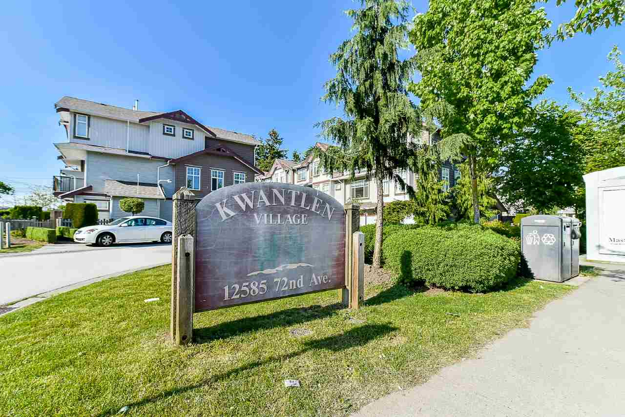 "Main Photo: 3 12585 72 Avenue in Surrey: West Newton Townhouse for sale in ""Kwantlyn Complex"" : MLS(r) # R2176256"