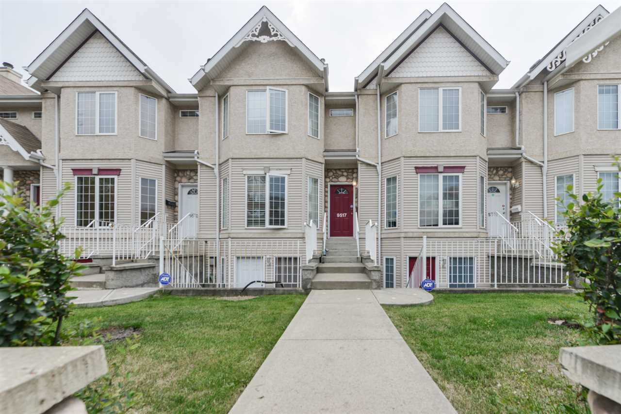2 storey with walk-out basement entrance at front.