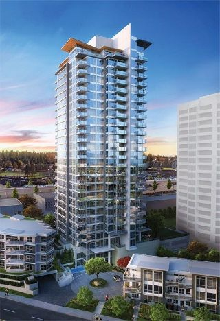 "Main Photo: 1702 520 COMO LAKE Avenue in Coquitlam: Coquitlam West Condo for sale in ""CROWN"" : MLS® # R2214990"