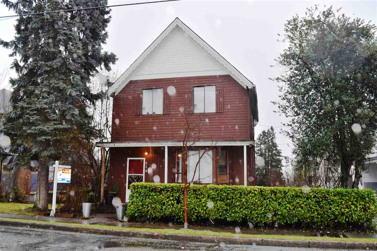 "Main Photo: 514 THIRD Avenue in New Westminster: Queens Park House for sale in ""QUEENS PARK"" : MLS® # R2231562"