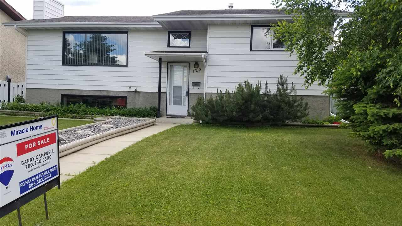 Main Photo: 122 Garwood Crescent: Wetaskiwin House for sale : MLS®# E4104700
