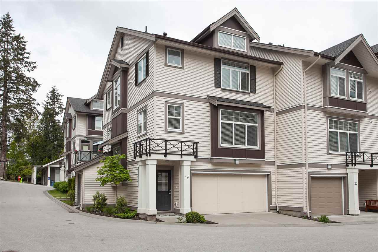 "Main Photo: 19 14377 60 Avenue in Surrey: Sullivan Station Townhouse for sale in ""Blume"" : MLS®# R2268152"