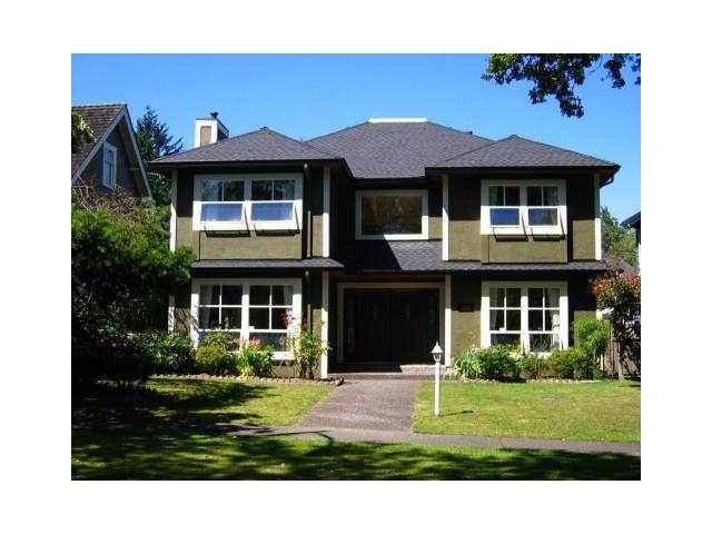 Main Photo: 3853 W 34TH Avenue in Vancouver: Dunbar House for sale (Vancouver West)  : MLS® # V873498
