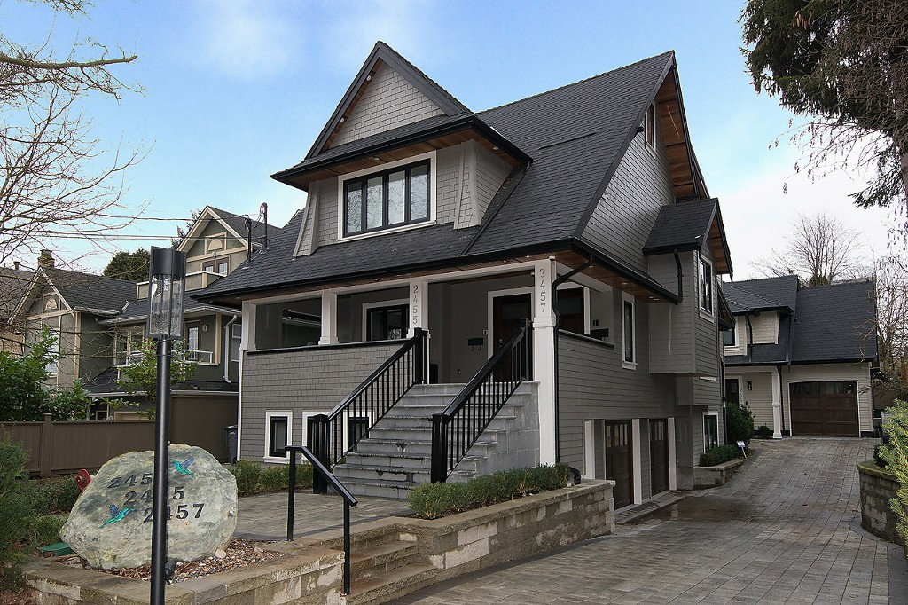 "Main Photo: 2457 W 7TH Avenue in Vancouver: Kitsilano House 1/2 Duplex for sale in ""The Ghalley"" (Vancouver West)  : MLS(r) # R2026979"