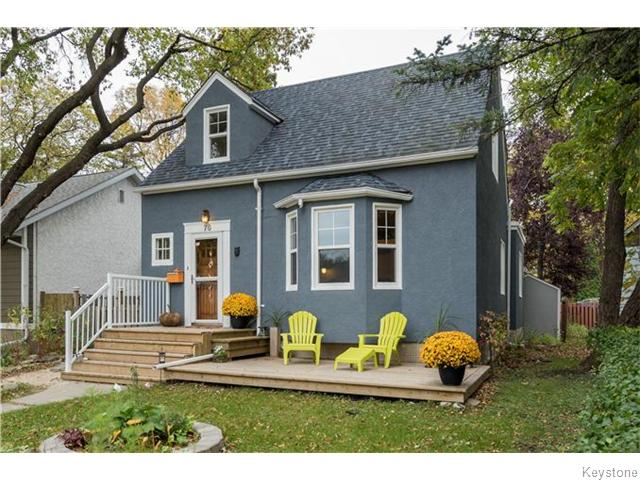 Plenty of curb appeal with gardens, a new deck, front steps, modern paint colours and newer shingles.