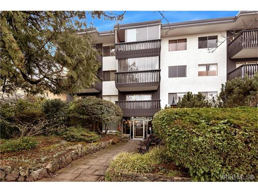 Main Photo: 401 1035 McClure Street in VICTORIA: Vi Downtown Condo Apartment for sale (Victoria)  : MLS(r) # 373701