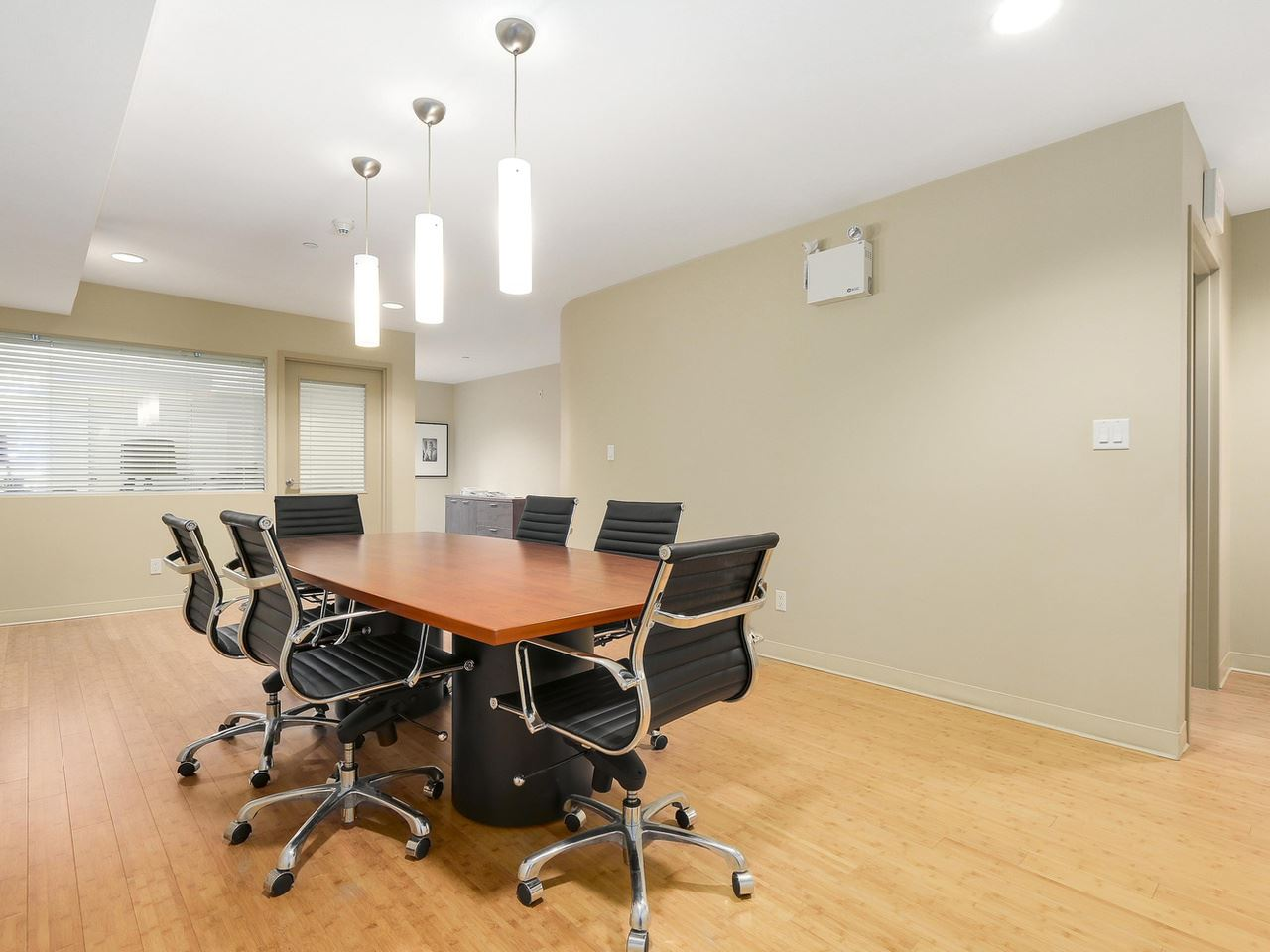 Located on the main level of the development, includes your own private office (strata titled) and common board room.