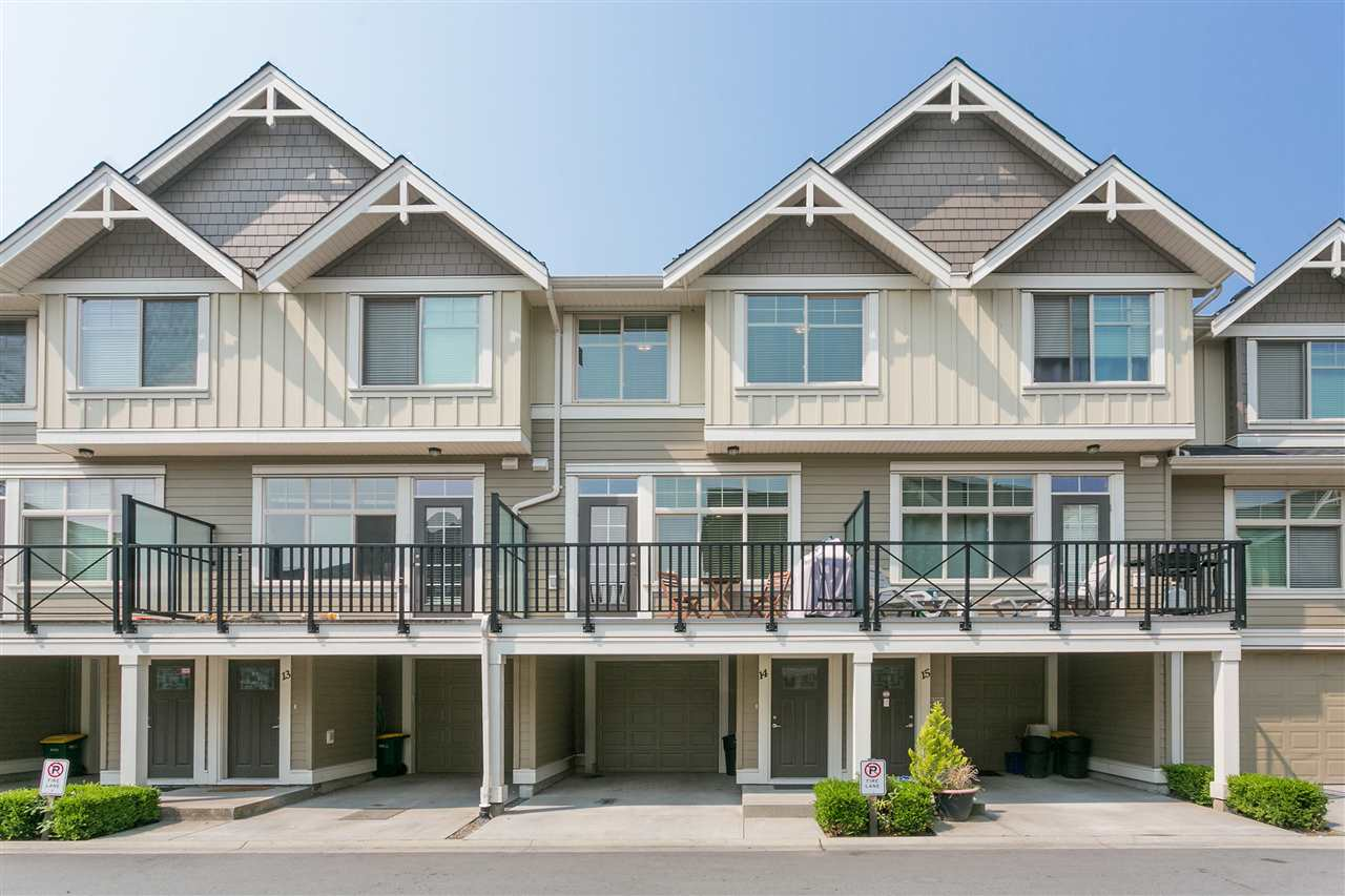"Main Photo: 14 19525 73 Avenue in Surrey: Clayton Townhouse for sale in ""UPTOWN"" (Cloverdale)  : MLS® # R2197473"