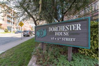 "Main Photo: 209 45 FOURTH Street in New Westminster: Downtown NW Condo for sale in ""Dorchester House"" : MLS® # R2250047"