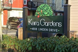 "Main Photo: 206 4808 LINDEN Drive in Ladner: Hawthorne Townhouse for sale in ""KEIRA GARDEN"" : MLS®# R2279995"