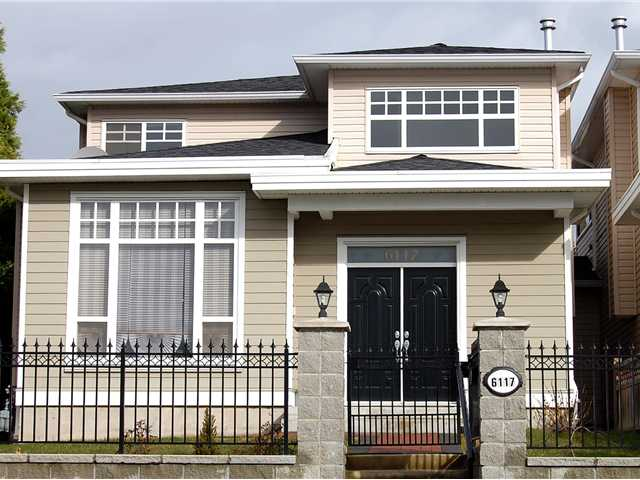Main Photo: 6117 LOCHDALE Street in Burnaby: Parkcrest House 1/2 Duplex for sale (Burnaby North)  : MLS(r) # V872473