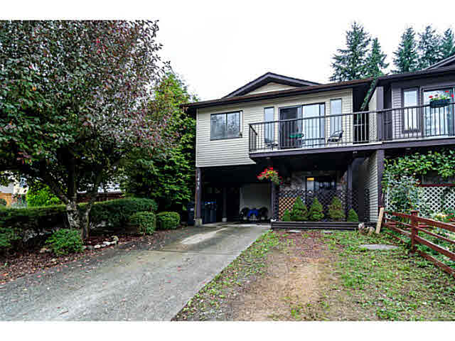 "Main Photo: 1436 PITT RIVER Road in PORT COQ: Mary Hill House 1/2 Duplex for sale in ""MARY HILL"" (Port Coquitlam)  : MLS® # V1130423"