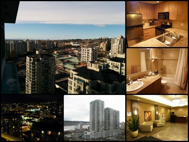 "Main Photo: 2607 892 CARNARVON Street in New Westminster: Downtown NW Condo for sale in ""AZURE 2"" : MLS® # R2016564"