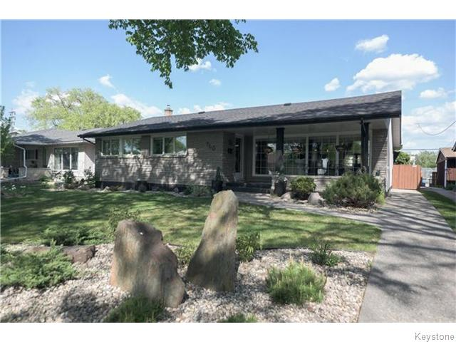 Main Photo: 760 Campbell Street in Winnipeg: River Heights / Tuxedo / Linden Woods Residential for sale (South Winnipeg)  : MLS(r) # 1613456