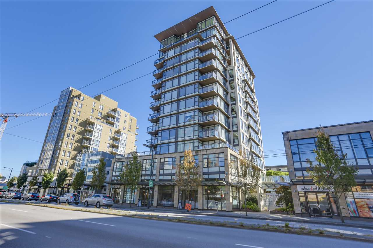 "Main Photo: 802 1068 W BROADWAY in Vancouver: Fairview VW Condo for sale in ""THE ZONE"" (Vancouver West)  : MLS®# R2109083"