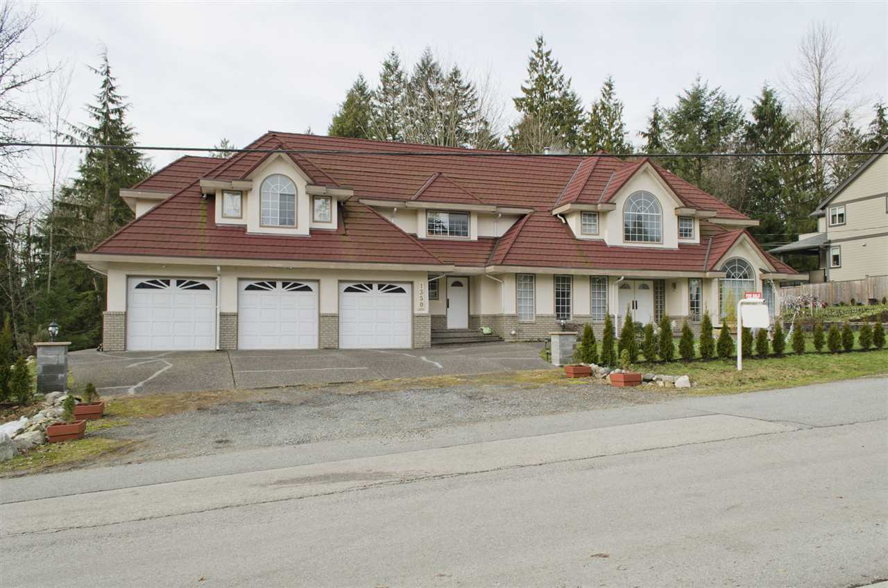 Photo 1: 1350 GLENBROOK Street in Coquitlam: Burke Mountain House for sale : MLS® # R2134302