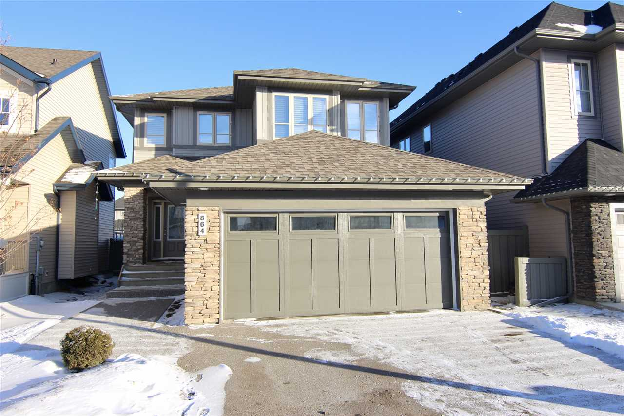 Main Photo: 864 ARMITAGE Wynd in Edmonton: Zone 56 House for sale : MLS(r) # E4049608