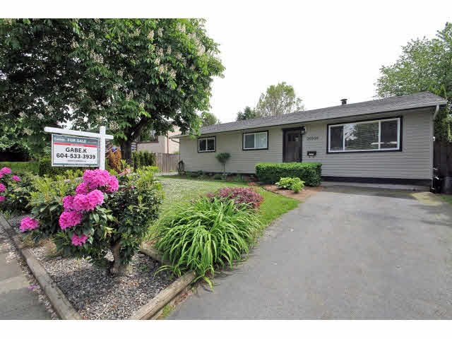 Main Photo: 20536 51A AVENUE in : Langley City House for sale : MLS® # F1412673