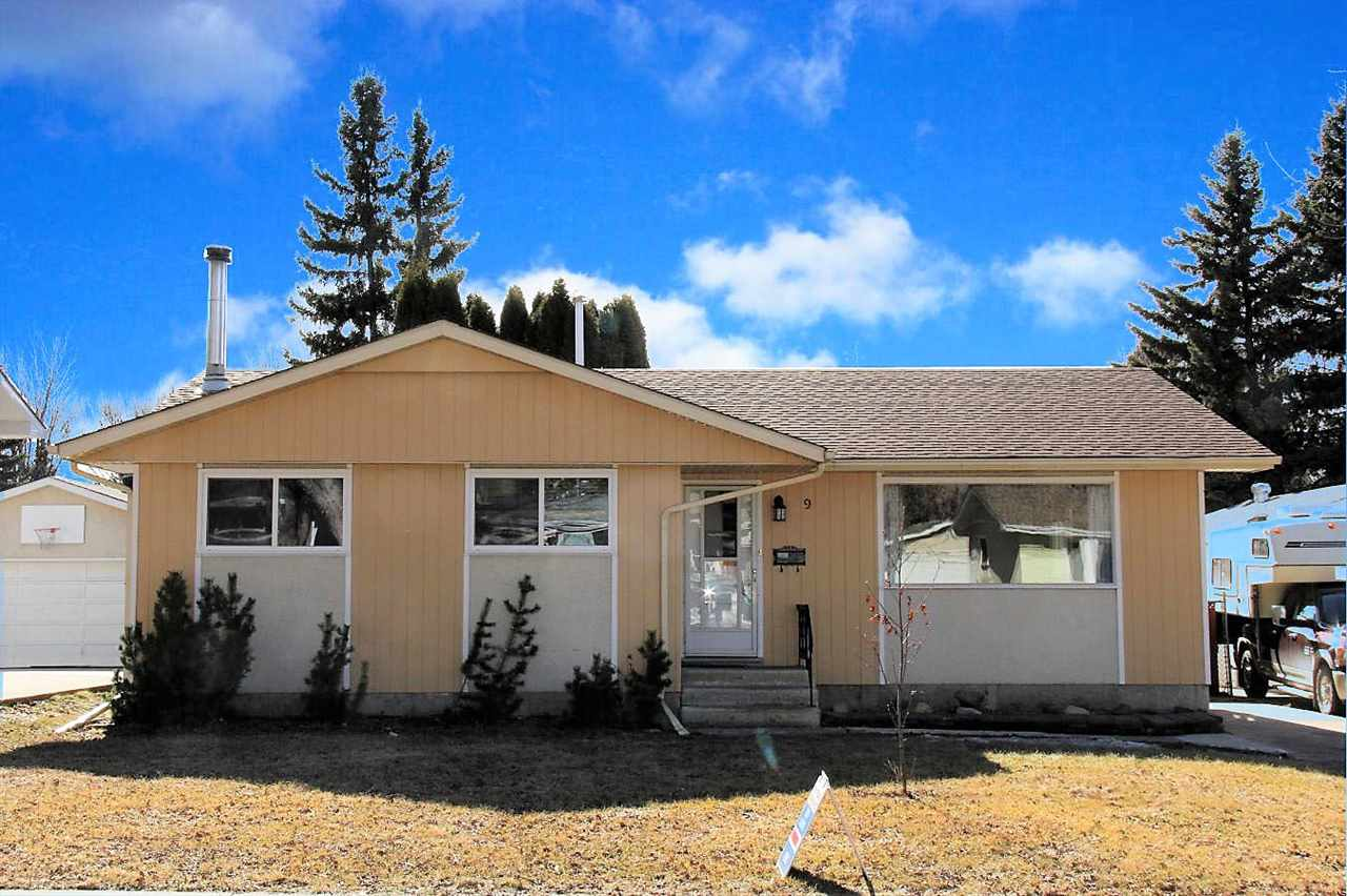 Main Photo: 9 BROADVIEW Crescent: St. Albert House for sale : MLS(r) # E4054773
