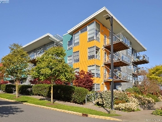 Main Photo: 103 90 Regatta Landing in VICTORIA: VW Victoria West Condo Apartment for sale (Victoria West)  : MLS(r) # 379334
