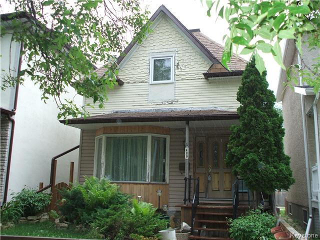 Main Photo: 486 Banning Street in Winnipeg: West End Residential for sale (5C)  : MLS® # 1715423