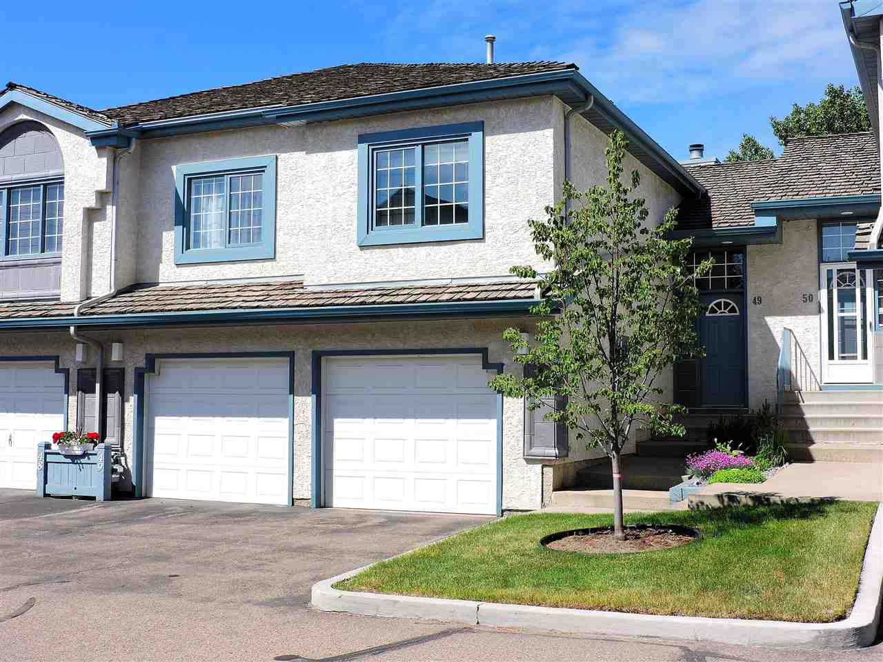 Main Photo: 49 1130 FALCONER Road in Edmonton: Zone 14 Townhouse for sale : MLS® # E4070045