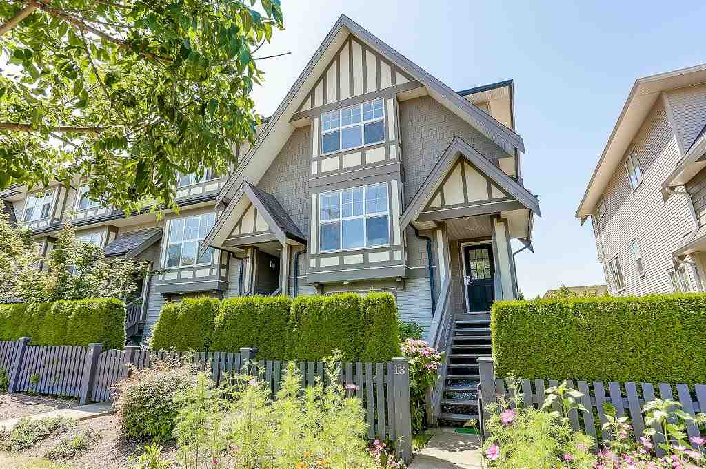 "Main Photo: 13 8089 209 Street in Langley: Willoughby Heights Townhouse for sale in ""Arborel Park"" : MLS® # R2188165"