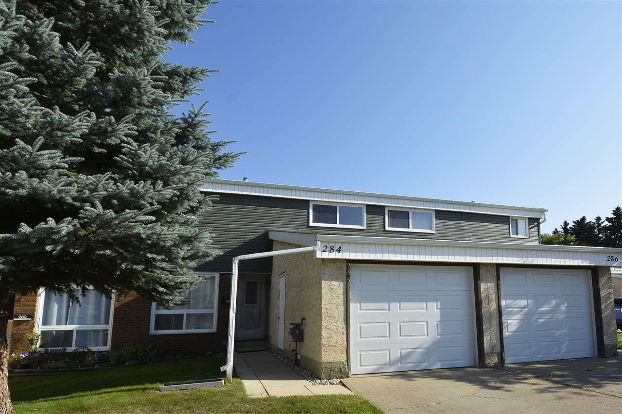 Main Photo: 284 GRANDIN Village: St. Albert Townhouse for sale : MLS® # E4077343