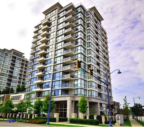 "Main Photo: 802 7575 ALDERBRIDGE Way in Richmond: Brighouse Condo for sale in ""OCEAN WALK"" : MLS® # R2196789"