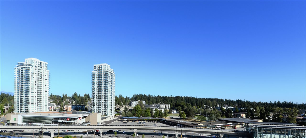 "Main Photo: 1509 520 COMO LAKE Avenue in Coquitlam: Coquitlam West Condo for sale in ""THE CROWN"" : MLS® # R2201755"