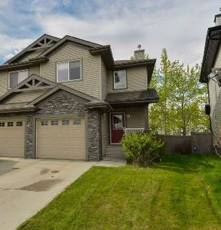 Main Photo: 6232 1A Avenue in Edmonton: Zone 53 House Half Duplex for sale : MLS® # E4085410