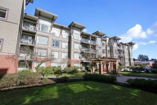 "Main Photo: 411 33538 MARSHALL Road in Abbotsford: Central Abbotsford Condo for sale in ""The Crossing"" : MLS®# R2245681"