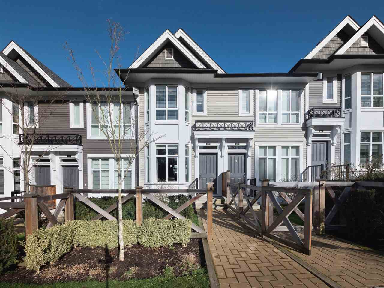 "Main Photo: 30 14433 60 Avenue in Surrey: Sullivan Station Townhouse for sale in ""Brixton"" : MLS®# R2251969"