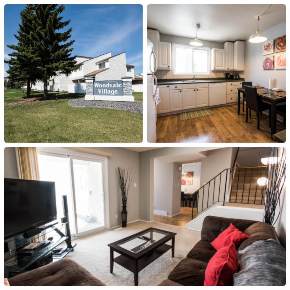 Main Photo: 6 WOODVALE Village in Edmonton: Zone 29 Townhouse for sale : MLS®# E4125314