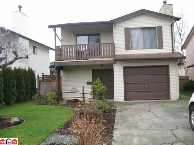 "Main Photo: 2921 BABICH Street in Abbotsford: Central Abbotsford House for sale in ""CENTRAL ABBOTSFORD"" : MLS® # F1200663"