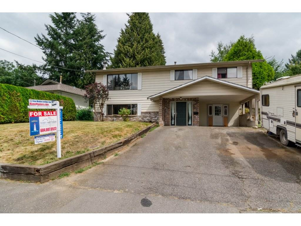 "Main Photo: 2424 PARK Drive in Abbotsford: Abbotsford East House for sale in ""Fraser Heights"" : MLS® # R2100098"