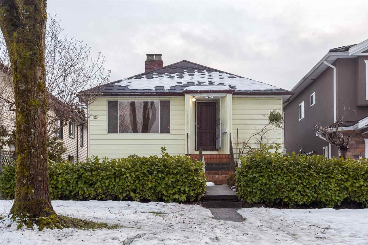 Photo 1: 2460 E 19TH Avenue in Vancouver: Renfrew Heights House for sale (Vancouver East)  : MLS® # R2130175
