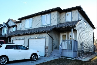 Main Photo: 15722 95 Street in Edmonton: Zone 28 House Half Duplex for sale : MLS(r) # E4058585