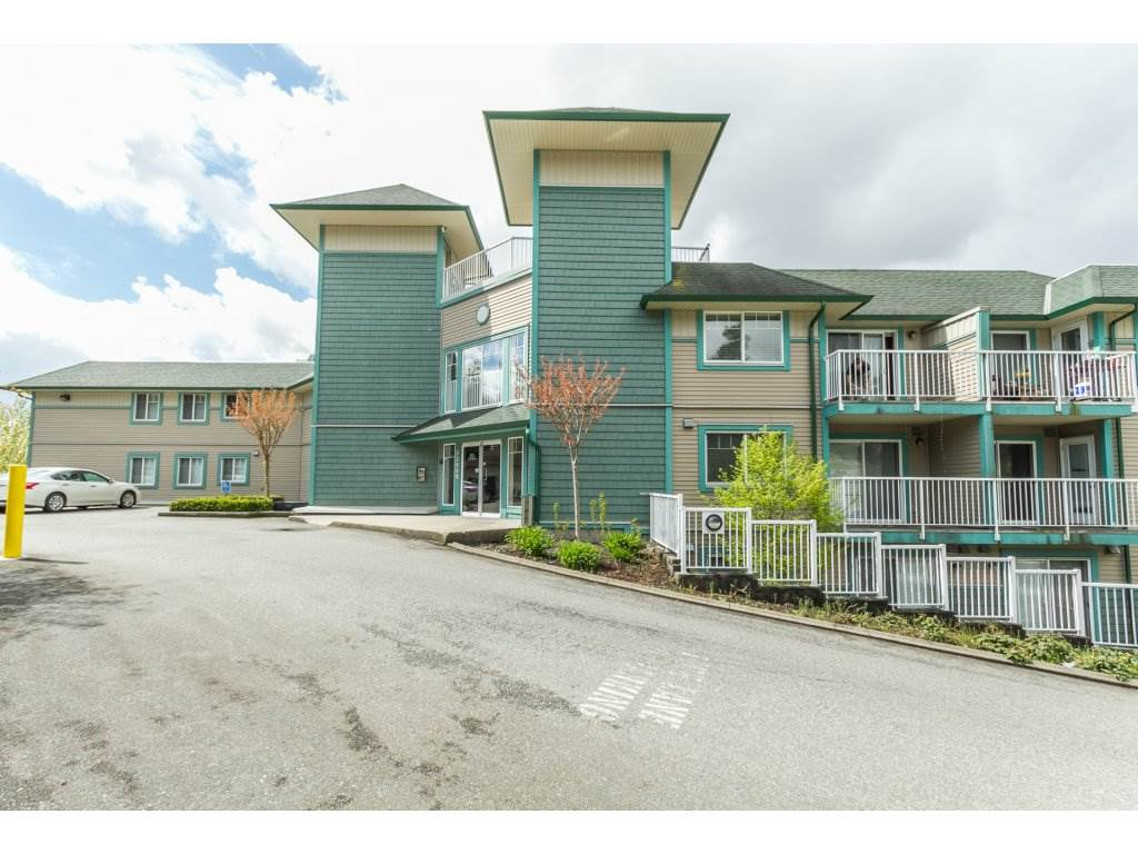 "Main Photo: 418 33960 OLD YALE Road in Abbotsford: Central Abbotsford Condo for sale in ""Old Yale Heights"" : MLS® # R2184843"