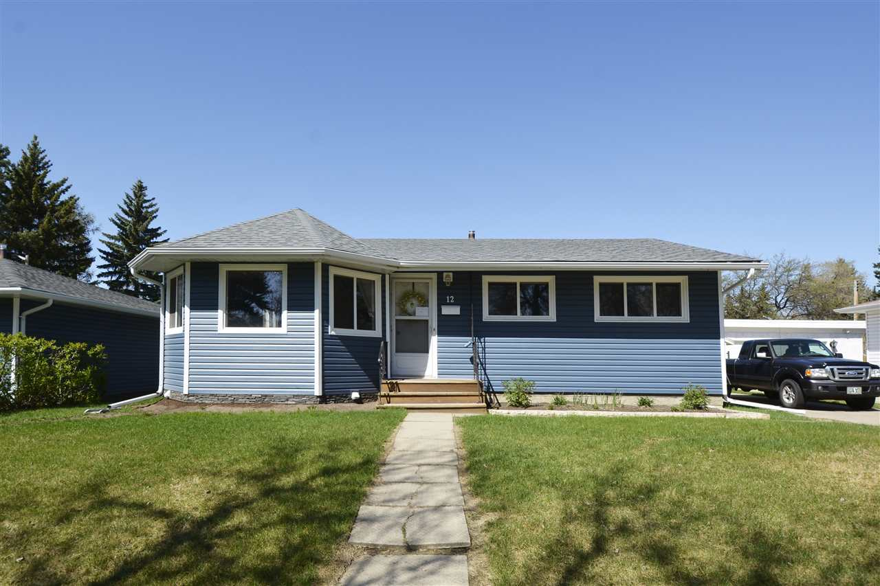 Main Photo: 12 GRANITE Avenue: St. Albert House for sale : MLS® # E4075992