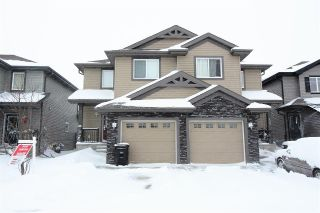 Main Photo: 132 CALVERT Wynd: Fort Saskatchewan House Half Duplex for sale : MLS® # E4087089