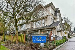 Main Photo: 11 12738 66 Avenue in Surrey: West Newton Townhouse for sale : MLS® # R2236763