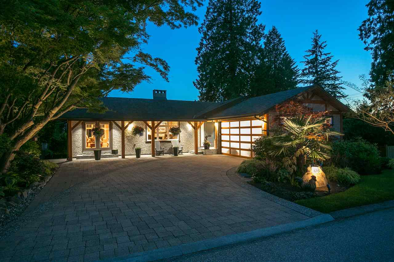 Main Photo: 693 ST. IVES Crescent in North Vancouver: Delbrook House for sale : MLS®# R2272502