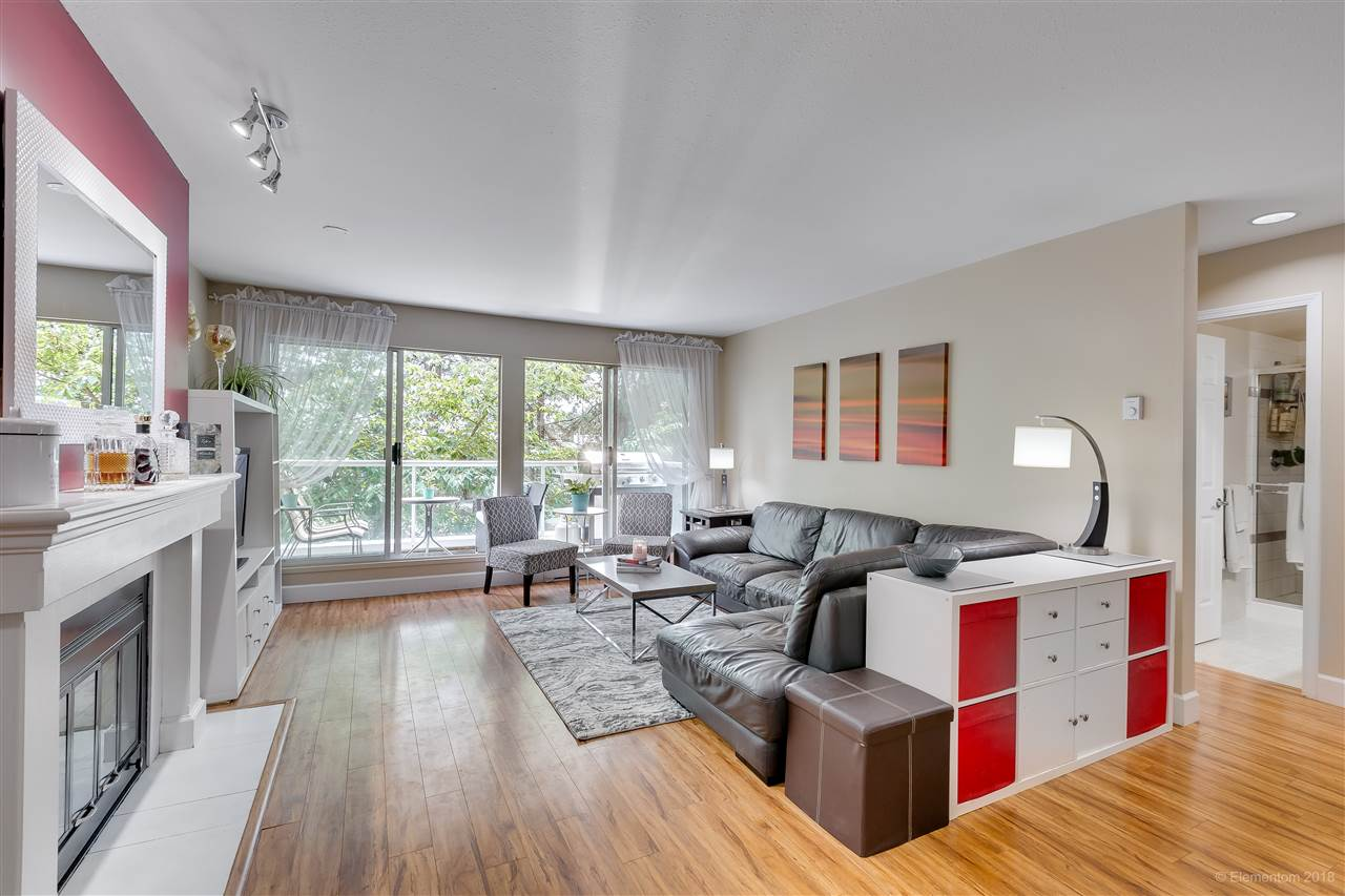 "Main Photo: 201 2733 ATLIN Place in Coquitlam: Coquitlam East Condo for sale in ""Atlin Court"" : MLS®# R2295428"