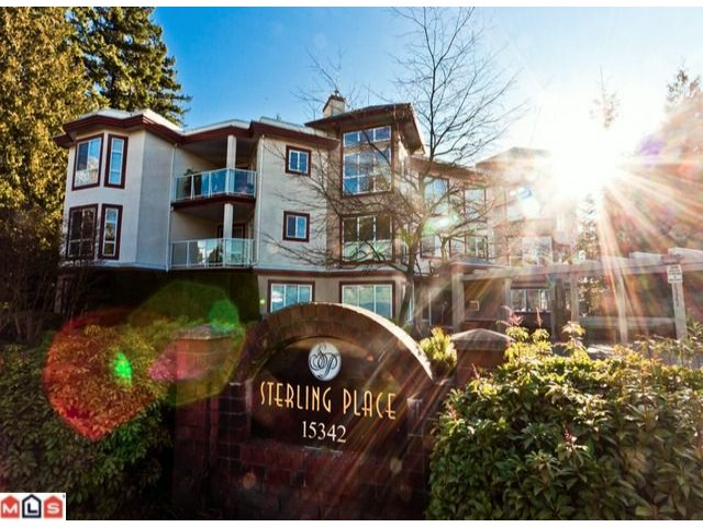 "Main Photo: 102 15342 20TH Avenue in Surrey: King George Corridor Condo for sale in ""STERLING PLACE"" (South Surrey White Rock)  : MLS® # F1200970"