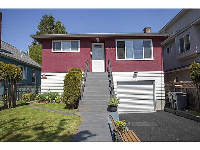 Main Photo: 3017 HORLEY Street in Vancouver: Collingwood VE House for sale (Vancouver East)  : MLS® # V1117749