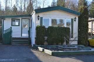 Main Photo: 18 3300 HORN Street in Abbotsford: Central Abbotsford Manufactured Home for sale : MLS®# R2016486