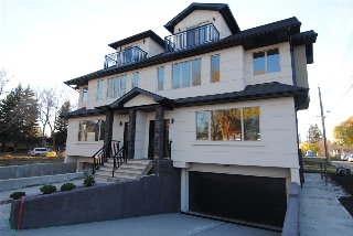 Main Photo: 7718 112 Street NW in Edmonton: Zone 15 House Half Duplex for sale : MLS(r) # E4061339