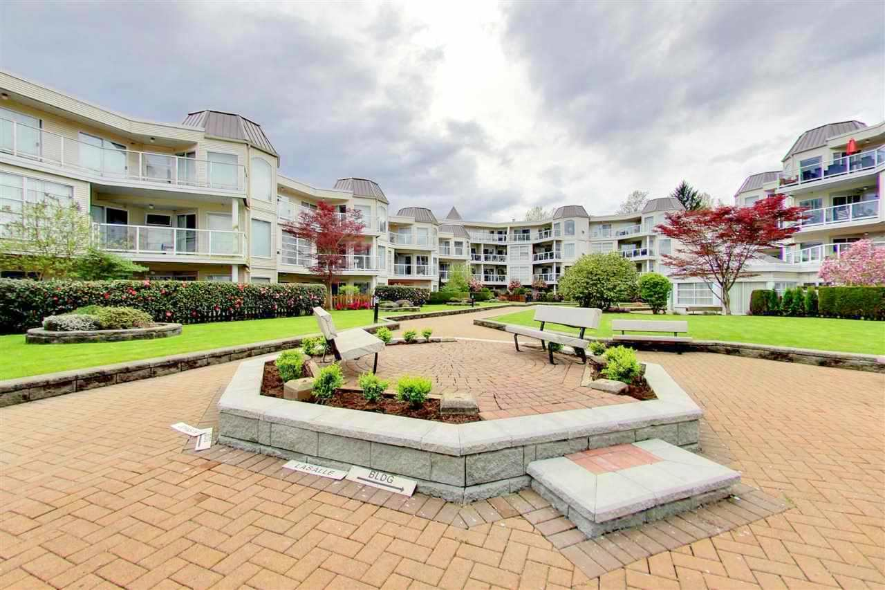 "Main Photo: 209 1220 LASALLE Place in Coquitlam: Canyon Springs Condo for sale in ""MOUNTAIN SIDE"" : MLS® # R2162103"